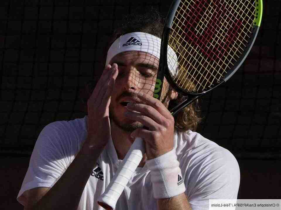 Joueur tennis grec roland garros